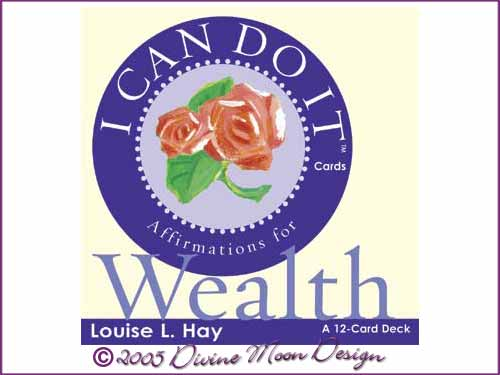 I Can Do It Cards: Affirmations For Wealth - Louise L. Hay