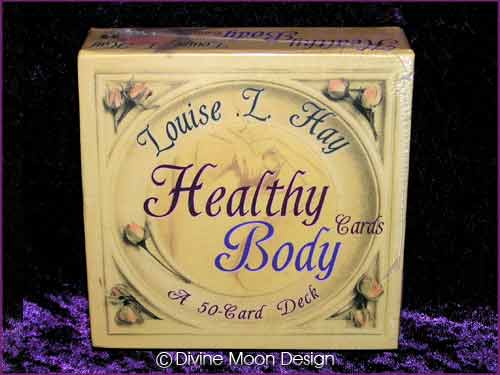 HEALTHY BODY Cards - 50 Card Deck - Louise L. Hay