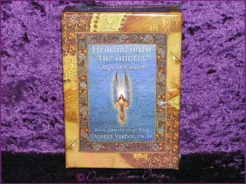 Healing with the ANGELS - Oracle Cards - Doreen Virtue PhD