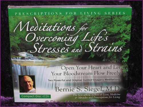 Meditations for Overcoming Lifes Stresses CD - Bernie S Siegel