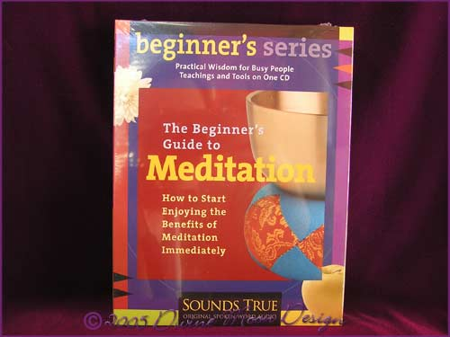 Beginner's Guide to MEDITATION CD Pack - Shinzen Young