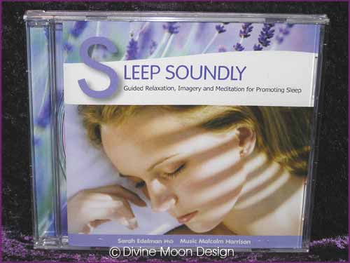 SLEEP SOUNDLY CD - Sarah Edelman