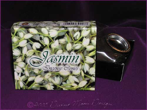 Box of Kamini Aromatics INCENSE CONES - JASMIN