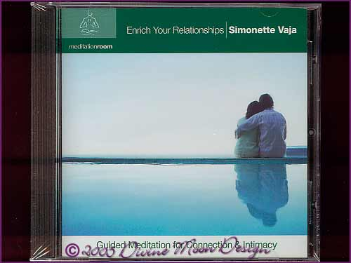 ENRICH YOUR RELATIONSHIPS Meditation CD - Simonette Vaja