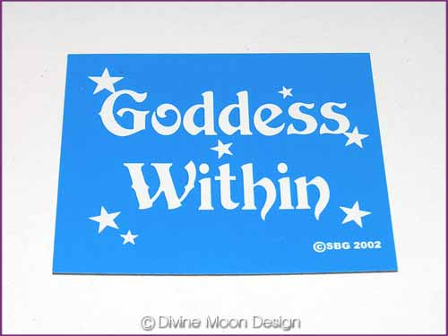 FRIDGE MAGNET Oz Made 13B) BLUE - Goddess Within