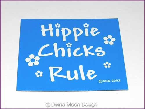 FRIDGE MAGNET Oz Made 12B) BLUE – Hippie Chicks Rule