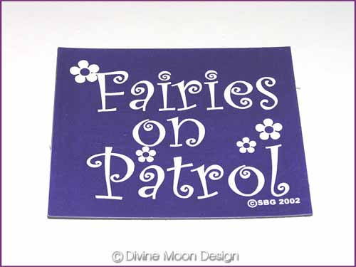 FRIDGE MAGNET Oz Made 18A) PURPLE – Fairies on Patrol