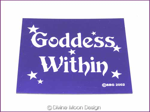 FRIDGE MAGNET Oz Made 13A) PURPLE - Goddess Within