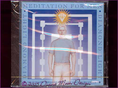 Diamond Light Meditation for Men CD - Lia Scallon