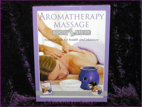 AROMATHERAPY MASSAGE - BOOK & DVD - Margie Hare