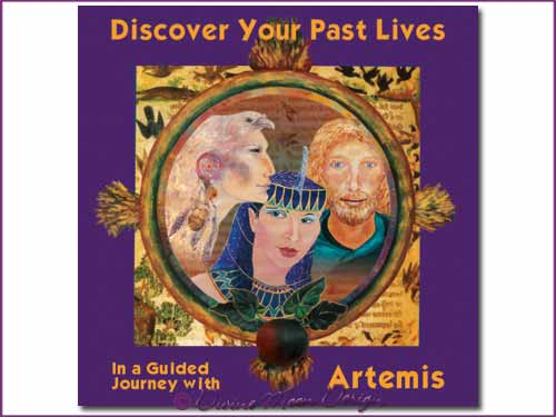 Discover your PAST LIVES - Guided Journey with Artemis CD