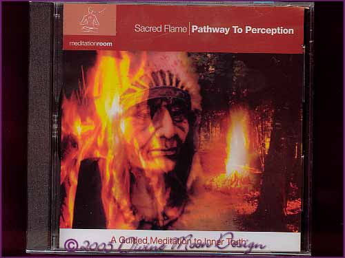 SACRED FLAME Meditation CD - Pathway to Perception