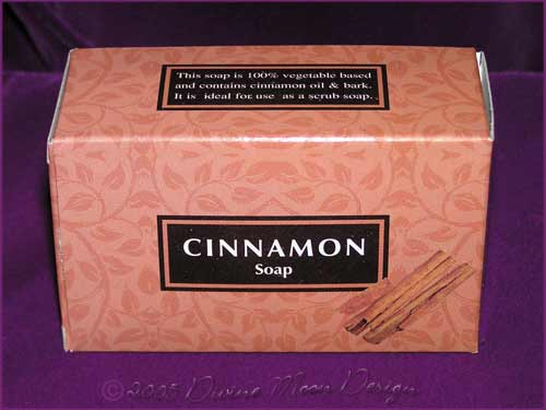 Kamini Aromatics 100gm SOAP boxed bar - CINNAMON