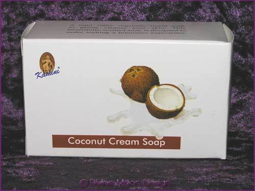 Kamini Aromatics 100gm SOAP boxed bar - COCONUT CREAM