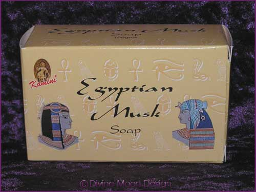 Kamini Aromatics 100gm SOAP boxed bar - EGYPTIAN MUSK