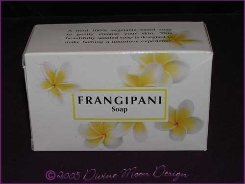Kamini Aromatics 100gm SOAP boxed bar - FRANGIPANI