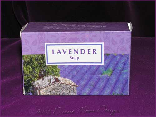 Kamini Aromatics 100gm SOAP boxed bar - LAVENDER