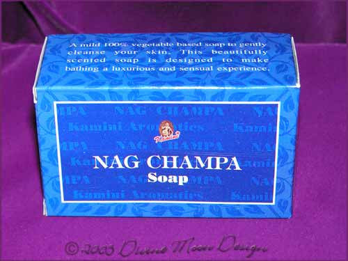 Kamini Aromatics 100gm SOAP boxed bar - NAG CHAMPA