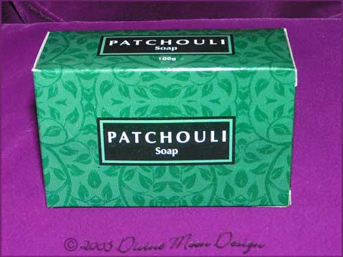 Kamini Aromatics 100gm SOAP boxed bar - PATCHOULI