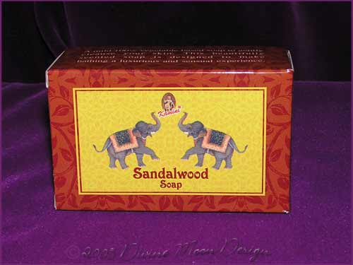 Kamini Aromatics 100gm SOAP boxed bar - SANDALWOOD