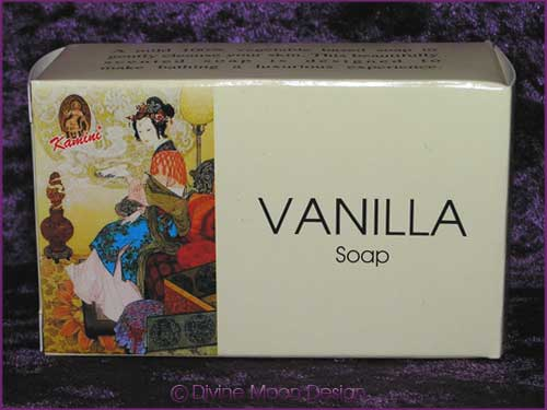 Kamini Aromatics 100gm SOAP boxed bar - VANILLA