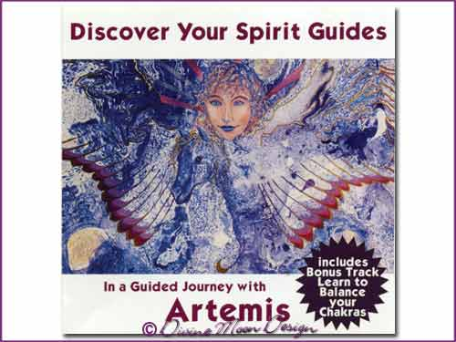 Discover your SPIRIT GUIDES - Guided Journey with Artemis CD