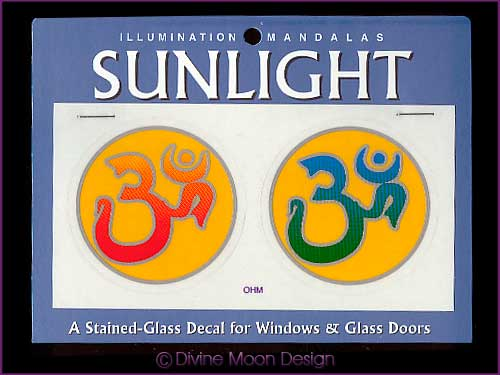 SUNLIGHT Glass Decal / Sticker for Windows - OHM