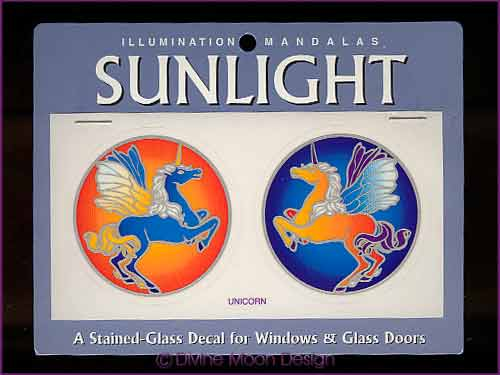 SUNLIGHT Glass Decal / Sticker for Windows - UNICORN