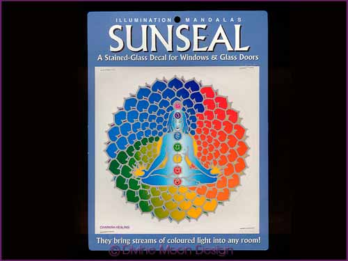 SUNSEAL Glass Decal / Sticker for Windows - CHAKRA HEALING